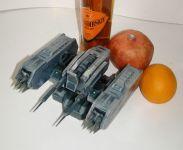 Бумажная модель пусковой установки Caldari Heavy Missle II =EVE=