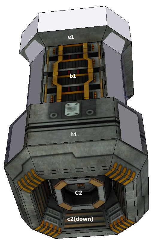 Бумажная модель Cargo container =EVE=