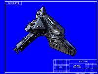 Бумажная модель корабля Ibis =EVE online=