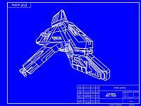 Бумажная модель: IBIS /EVE online