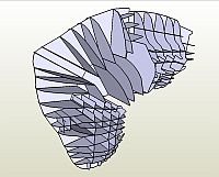 Бумажная модель крузак Gallente - Vexor =EVE=