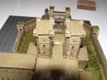 Бумажная модель: замок в окрестности Гирана =LineAge 2=