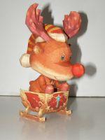 Игрушка из бумаги. Новогодний пет: олень Rudolf =LA2=